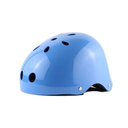 Cască protecție Safe4U - Sky Blue (albastru)