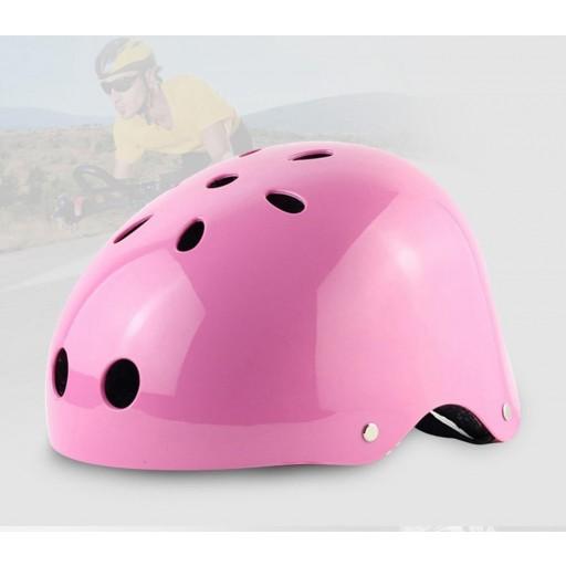 Cască protecție Safe4U - Pink (Roz)